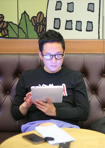 Selfportrait A700 Jinjusi Cafe