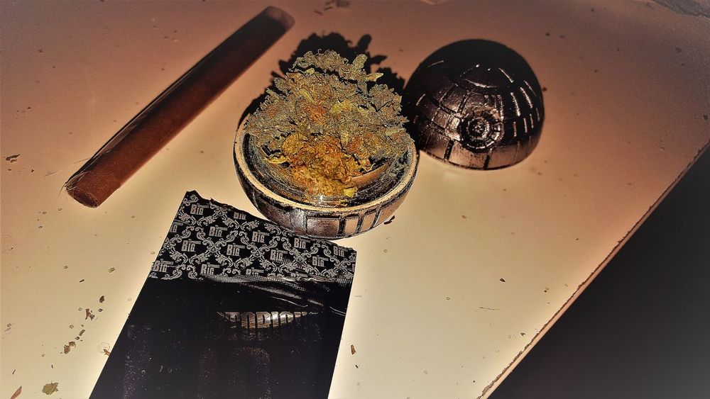 Day Death Star Holiday Indoors  No People Smoke Star Wars Weed Star