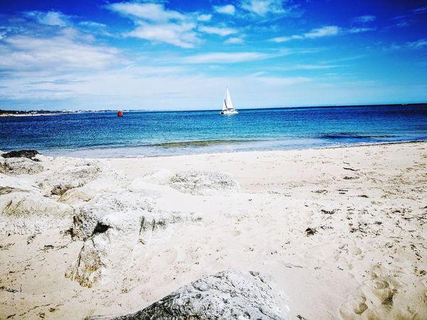 https://youtu.be/WGIS8npb5GQ Nautical Vessel Blue Summer Sky Horizon Over Water Sailboat Yachting Seascape Coast