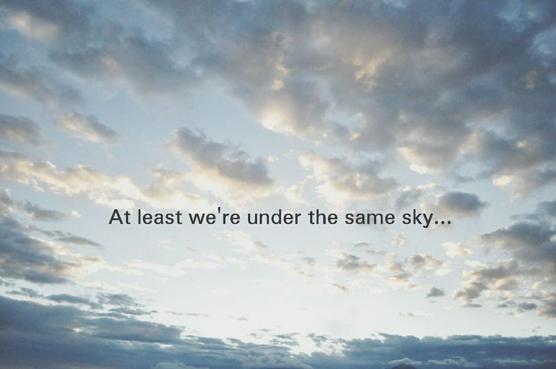 Missing Him.. Sky Just Sayin Loveee ♥ What Makes You Calm