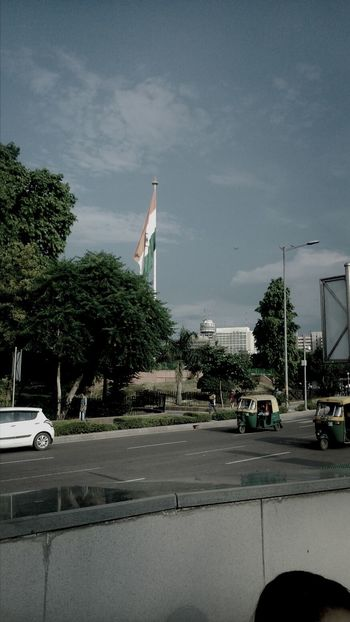 At The Stroke Of Midnight 68th Independence Day Indian Flag