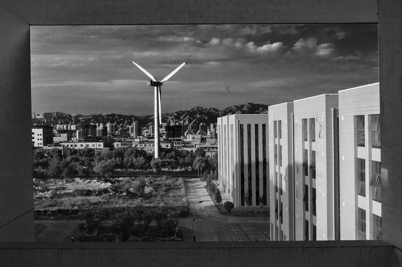 Black & White University Lanzhou
