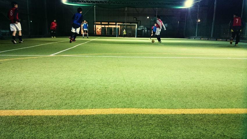 LINE Yellow Footsal Grass Player