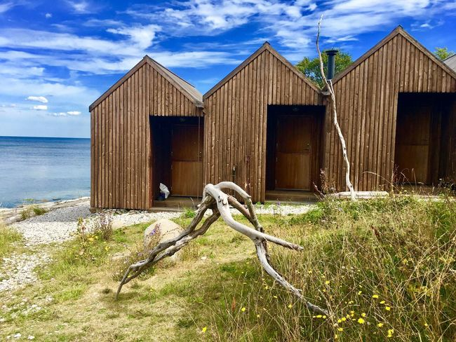 Water Architecture Day Outdoors Nature Sky Built Structure Abandoned No People Wood - Material Tranquility Beach Beauty In Nature Sea Grass Building Exterior Svezia Gotland Gotland, Sweden Sweden