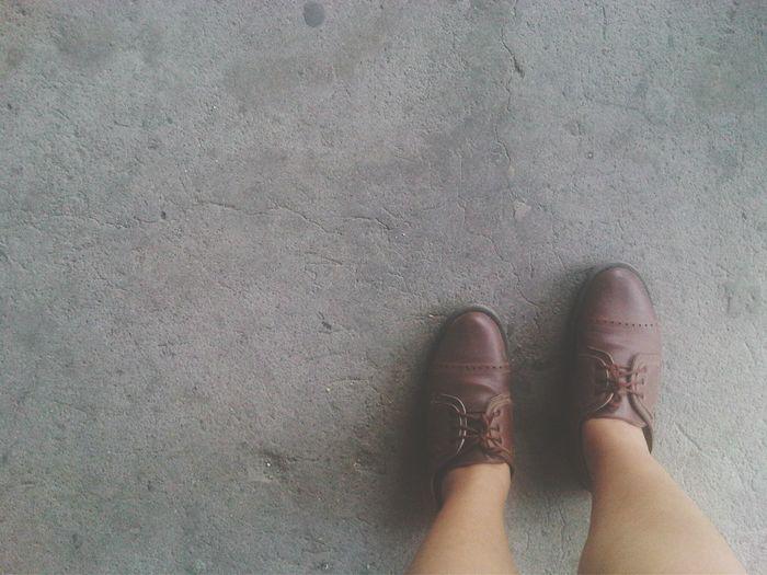 Oxford Shoes Vintage Justjj