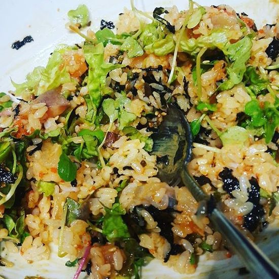 먹방 먹스타그램 먹부림 회덮밥