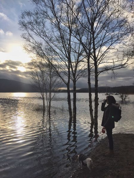 Sunset pictures. 🇬🇧 Lake Lake District Coniston Coniston Water Jack Russell Jrt Dog Women Taking Photos Taking Photos Of People Taking Photos Asian  Asian Girl Hello World England Travel Photography Travel Destinations Traveling English Countryside Check This Out Silhouette Sunset Sunset_collection