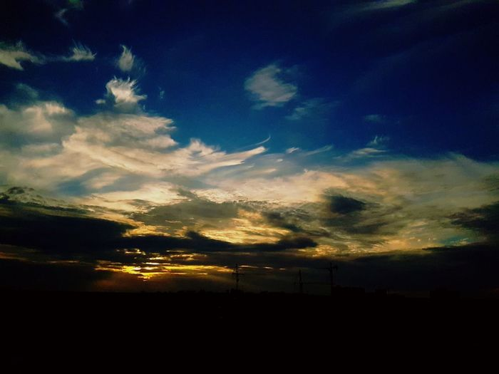 Tranquil Scene Nature Scenics Beauty In Nature Sky Tranquility No People Silhouette Cloud - Sky Outdoors Sunset Tree Night Mysoulreflection Mythoughts Mylife Mypain Mytlp моимысли мояжизнь мояболь моимжб живописьприроды