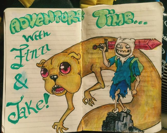 Adventure Time Finn And Jake Myartwork Art Checkthisout