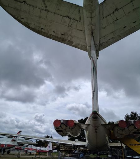Cloud - Sky Sky Outdoors Low Angle View Plane Areoplane Brooklandsmuseum EyeEmNewHere