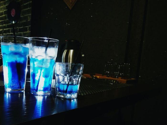 蓝色可乐 Blue coke