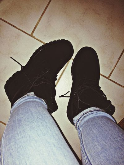 Neue timberlaaands Black Shopping Shoes Enjoying Life