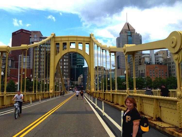 Pittsburgh Roberto Clemente Bridge
