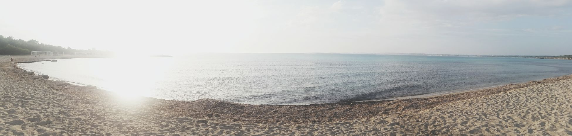 Salento, Apulia Sea Water Sunlight Nature Sunbeam Horizon Over Water Sky Scenics Outdoors Beauty In Nature Day Sun Beach Tranquil Scene Tranquility No People Freshness myhome