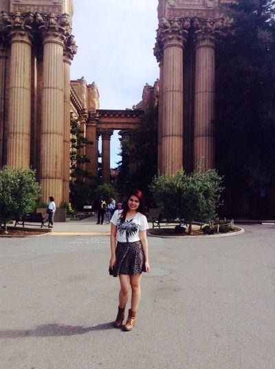 palace of fine arts san francisco california (: