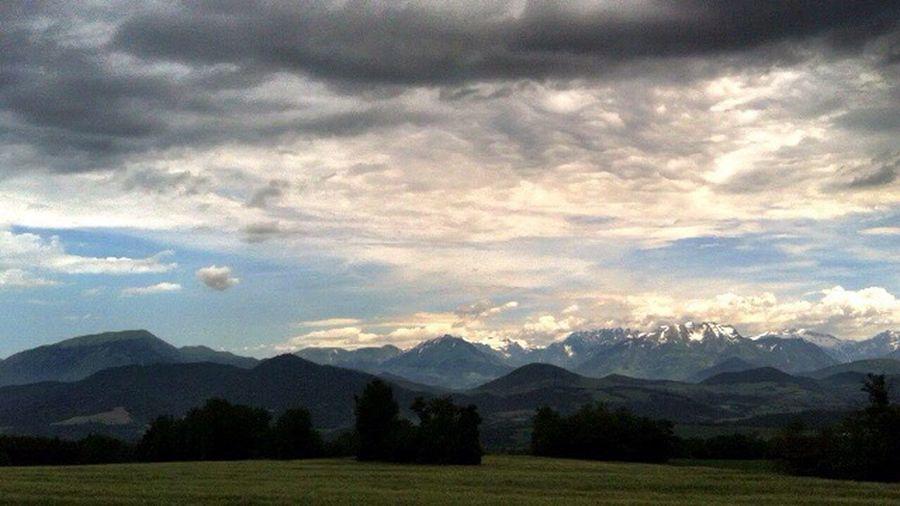 Mountain Beauty In Nature Mountain Range Sky Nature Landscape Daswasichsehe😊 EyeEm Nature Lover EyeEm Best Shots Einfachschön