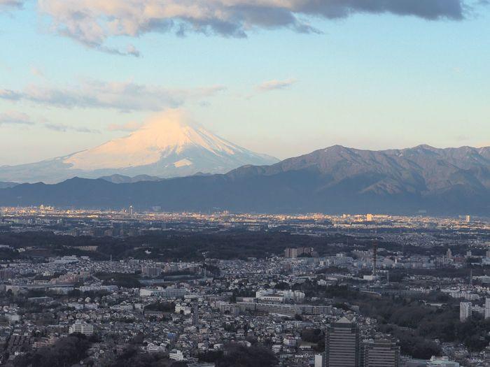 Mt.Fuji and my home town views. Mt.Fuji Mountain View My Home Town! Landscape Cityscapes Landscape_Collection Eyeem Best Shots - Cityscape EyeEm Best Shots - Landscape The Great Outdoors - 2015 EyeEm Awards Yokohama-shi