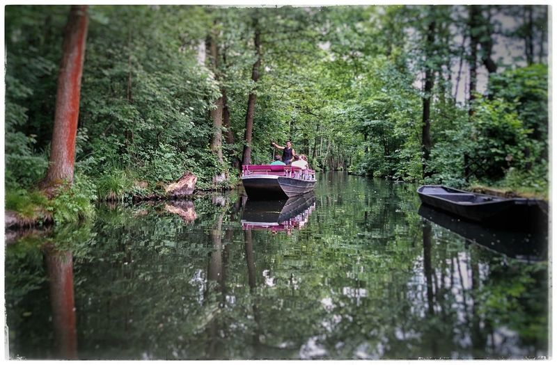 Eine Spreefahrt die ist lustig... Kahnfahrt Spreewald Likeatourist Nature_collection Rest & Relax