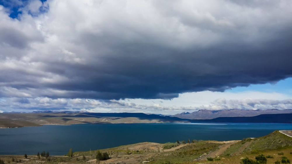Cluody Sky, near to Esquel, Chubut, Argentina. Cloud - Sky Cultures Day Extreme Weather Horizontal Landscape Mountain Nature No People Ominous Outdoors Storm Cloud Thunderstorm