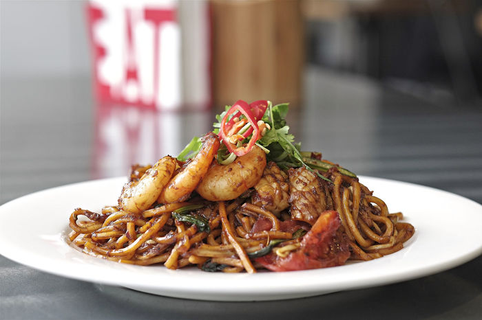 Mee Goreng Stir Fried Noodles Asian Food Chilli Chilli Noodles Chilli Stir Fry Close-up Delicious Dinner Focus On Foreground Food Gourmet Lunch Malaysian Food Meal Mee Goreng Noodles Plate Prawns Ready-to-eat Selective Focus South East Asian Food Stir Fry Stir Fry Noodles Stir Fry Noodles Prawns White Plate Yummy