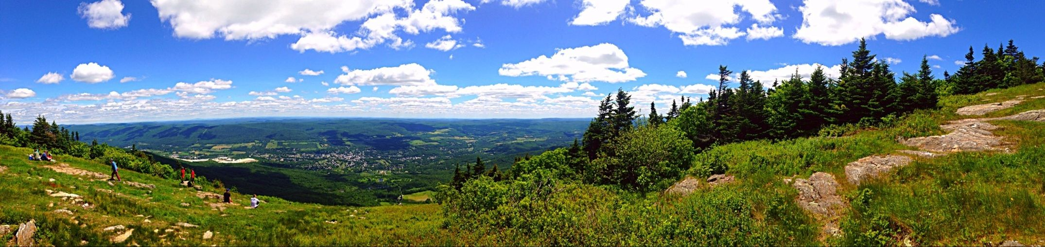 The view from the top of mount greylock in massachussetts Hiking Panorama Sky Porn Beautiful