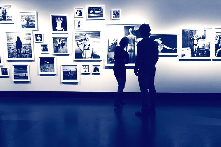 People In Museum From My Point Of View At An Exhibition C/O Berlin Anton Corbijn The Places I've Been Today People Together Capture Berlin
