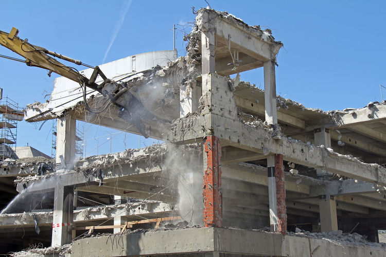 Building Getting Demolished