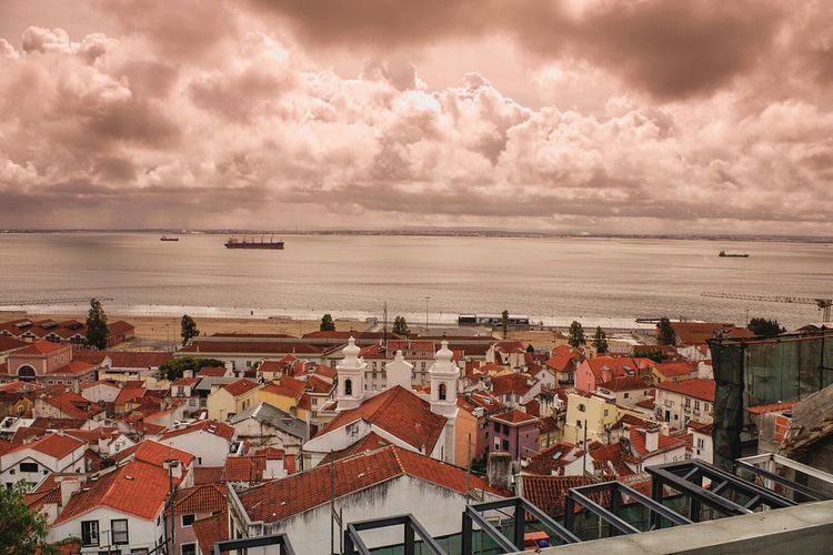 Lisbon rooftops II From The Rooftop Lisbon Travel Photography Cityscapes