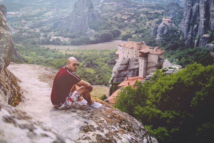 Share Your Adventure Nature_collection Mountain View Traveling Greece Meteora That's Me Today Hot Look