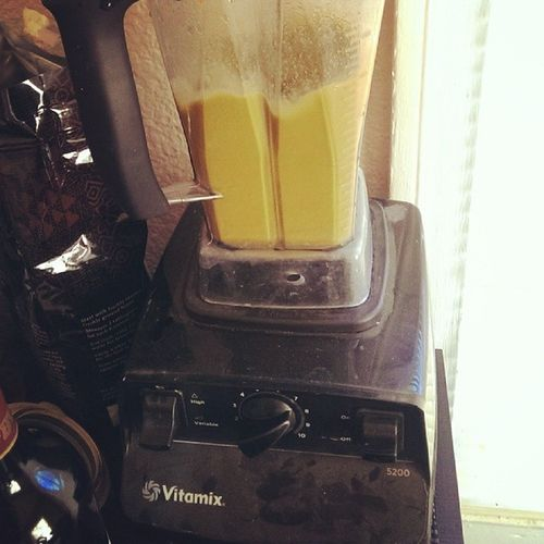 I go hard on that vitamix juicing. Micros  Healthyliving Makinggains