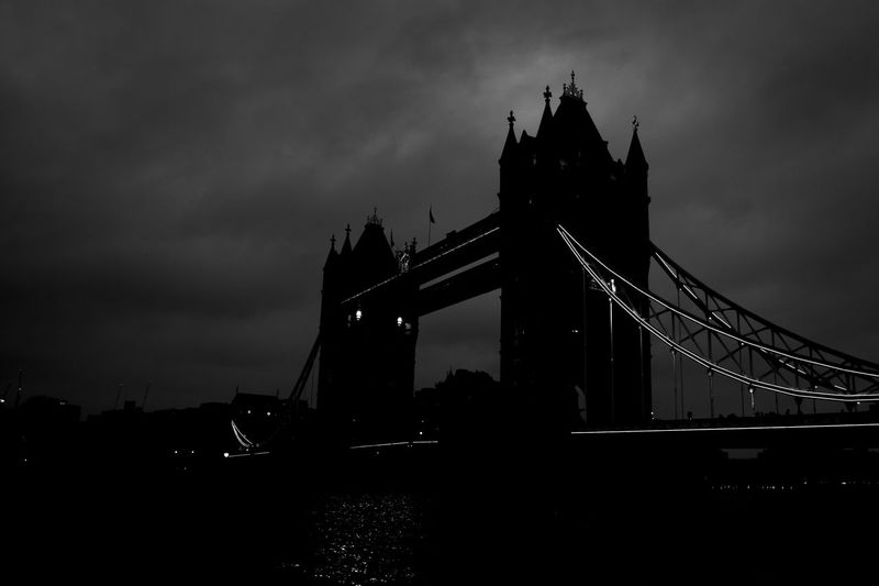 #blackandwhite #bridge #building #bw #cold #England #london #NightLife #nightshot #towerbridge #Winter Architecture