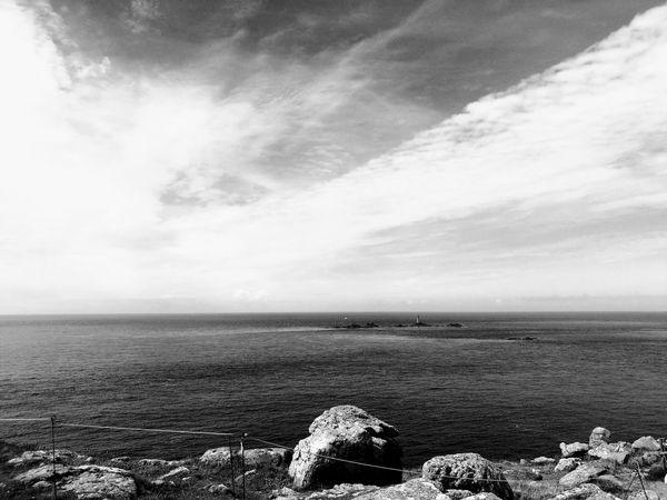Cornwall LandsEnd Sea Ocean