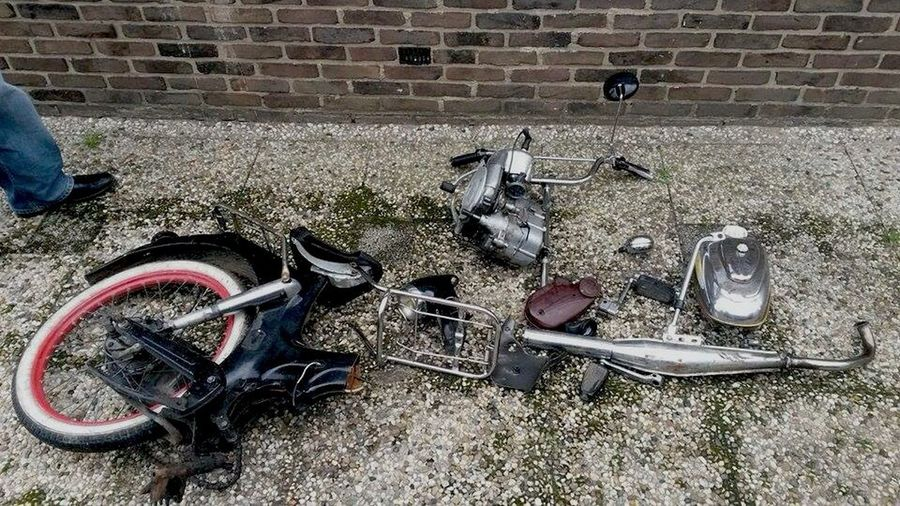 Puch Recovered After Being Stolen