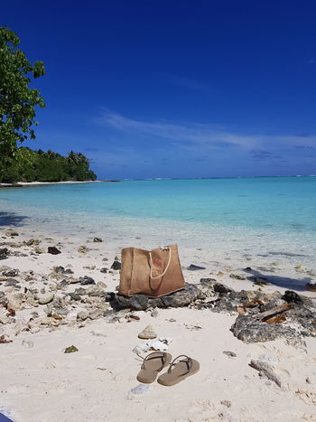 Travel Destinations Tahiti Vacations French Polynesia Tranquil Scene Beach Sea Water Relaxing Mer Blue Maupiti Beauty In Nature Landscape Sky Sand