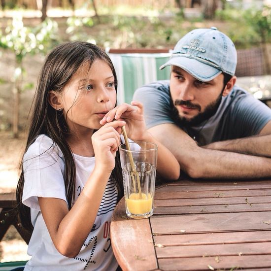 Shooting day at hello magazine georgia. Me with a little princess 😊 Two People Sitting Drink Drinking Togetherness Drinking Glass Adult Females Young Adult Drinking Straw Men Bonding Fun People Refreshment Healthy Lifestyle Smiling Outdoors Day Adults Only