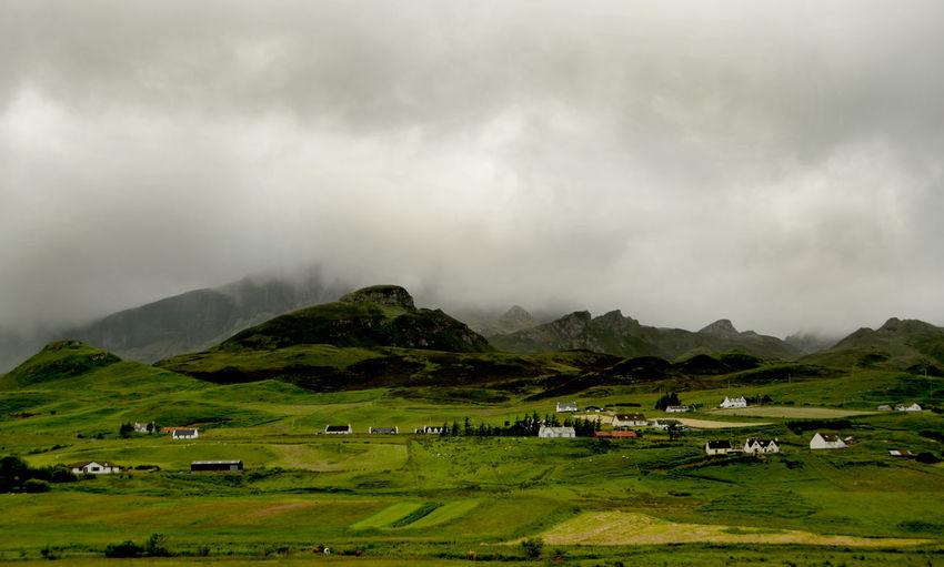 Skye at it's best Nature Melancholic Landscapes EyeEm Nature Lover Traveling Skye Isle Of Skye Portree Rain Scotland England & Scotland