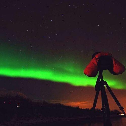 看見極光的您會幸福一輩子喔♥ 致弟兄姊妹 幸福 一輩子 北極光 漫天飛舞 星空 壯觀 watch aurora you will be fortune and sweet love forever to my dear sis bro make a wish travel Tromso Norway instalove instalife
