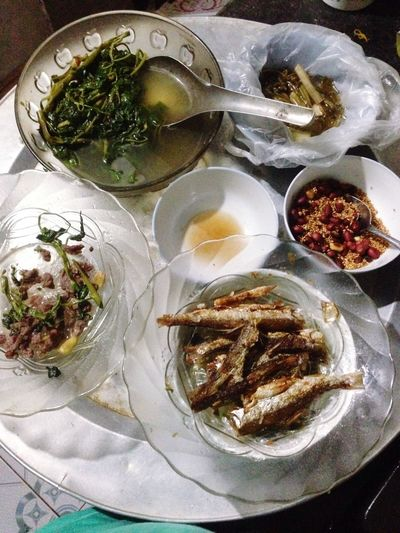 Enjoy A Meal Vietnam Fish Vegetables