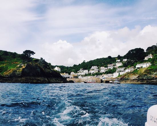 Polperro harbour Water Sea Beauty In Nature Cloud - Sky Scenics Day Sky Nature Waterfront Nautical Vessel Outdoors Cornwall Cornwall Uk Cornwall Tourism Cornwall Photography EyeEmNewHere