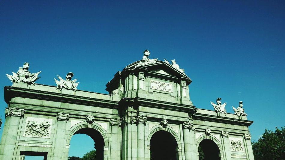 Architecture Built Structure Clear Sky Famous Place Spain ✈️🇪🇸 Arquitecture Spain_greatshots Arte Urbano