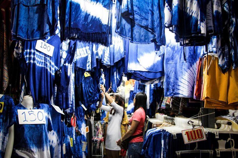 blue is