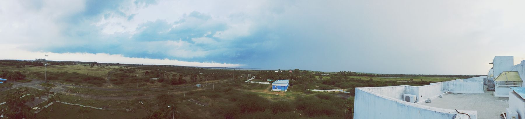 Panorama rains. Tranquil Scene Landscape Scenics Tranquility Sky Panoramic Beauty In Nature Cloud Mountain Nature Non-urban Scene Solitude Remote Horizon Over Land Vacations Cloud - Sky Day Valley Outdoors Mountain Range