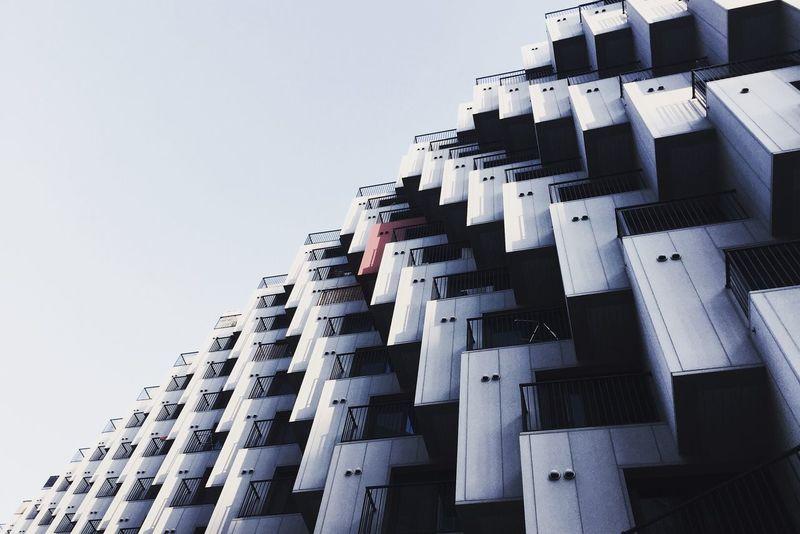 Cubes Emk3ico Cityscape Architecture Seoul Korea Building Iphone6