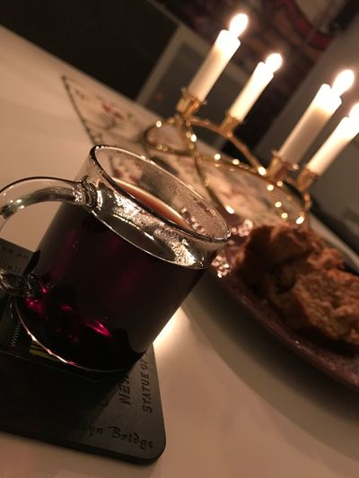 Cosy winter nights are here Glögg Glühwein Fall Winter Lights Amber Goodlife
