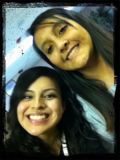 My girly and I:)