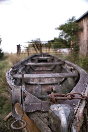 Das Boot Boot Old Boat Old Boats Altes Boot Perspectives Perspective Brandenburg