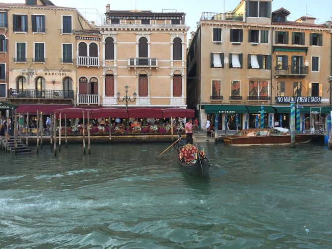 Adult Architecture Building Exterior Canal City Cultures Day Gondola - Traditional Boat Gondolier Large Group Of People Nautical Vessel Outdoors People Rowing Tourism Tourist Transportation Travel Travel Destinations Uniform Vacations Water