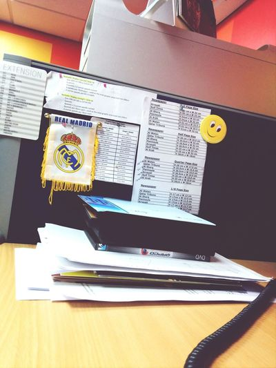 Office Real_madrid Working Bored