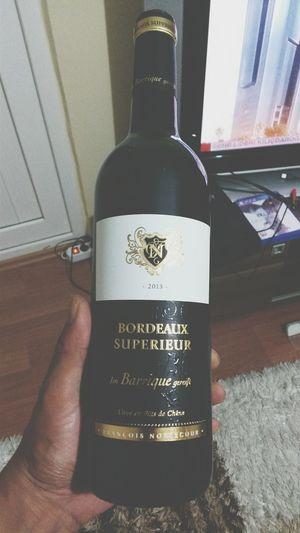 Wine şarap bu aksam da böyle