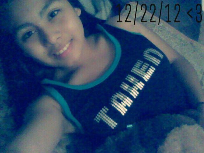 Taken 12/22/12 Adrian Ramirez <3 && My Monkey Was Hiding Lol Cx